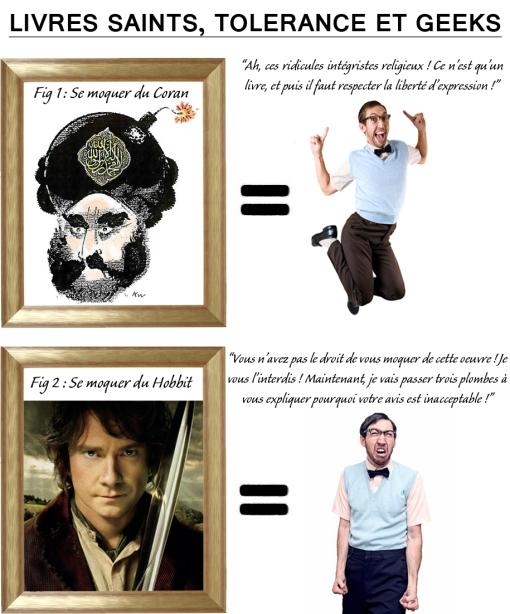 Fonctionne aussi si vous expliquez que Star Wars, c'est quand même bourré de trucs foireux, ou qu'Harry Potter se vautre toutes les 3 pages