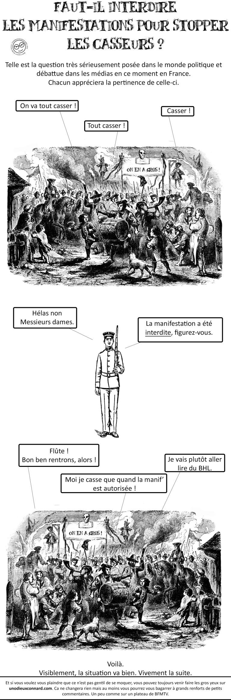 En Marche vers la dictature!  - Page 4 Casseurs