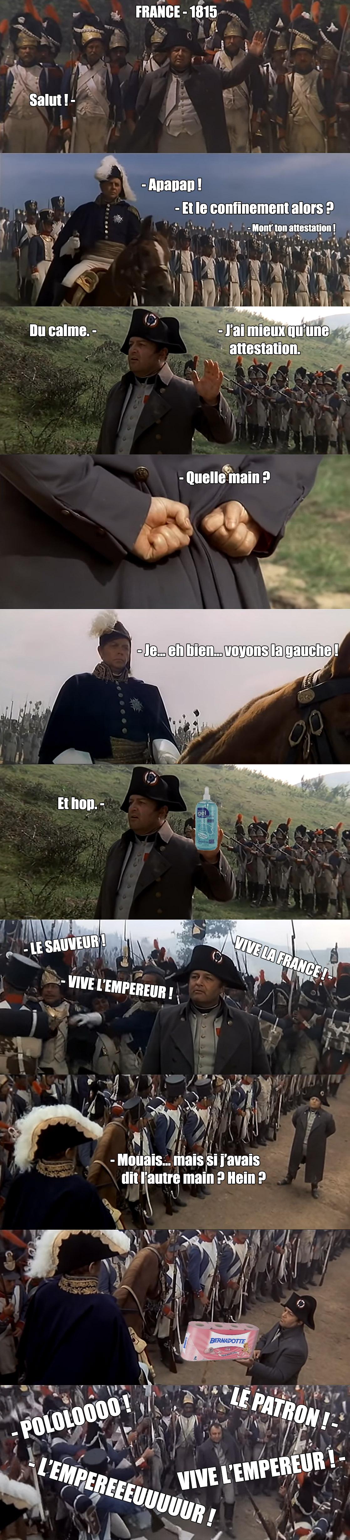 L'humour au temps du coronavirus - Page 5 Napoleonsavon